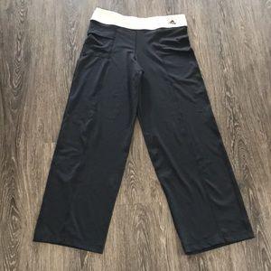 Adidas clima 365 wide leg pants L
